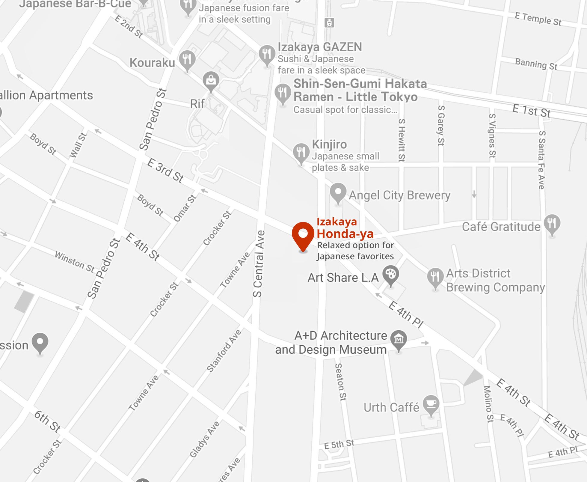little_tokyo map